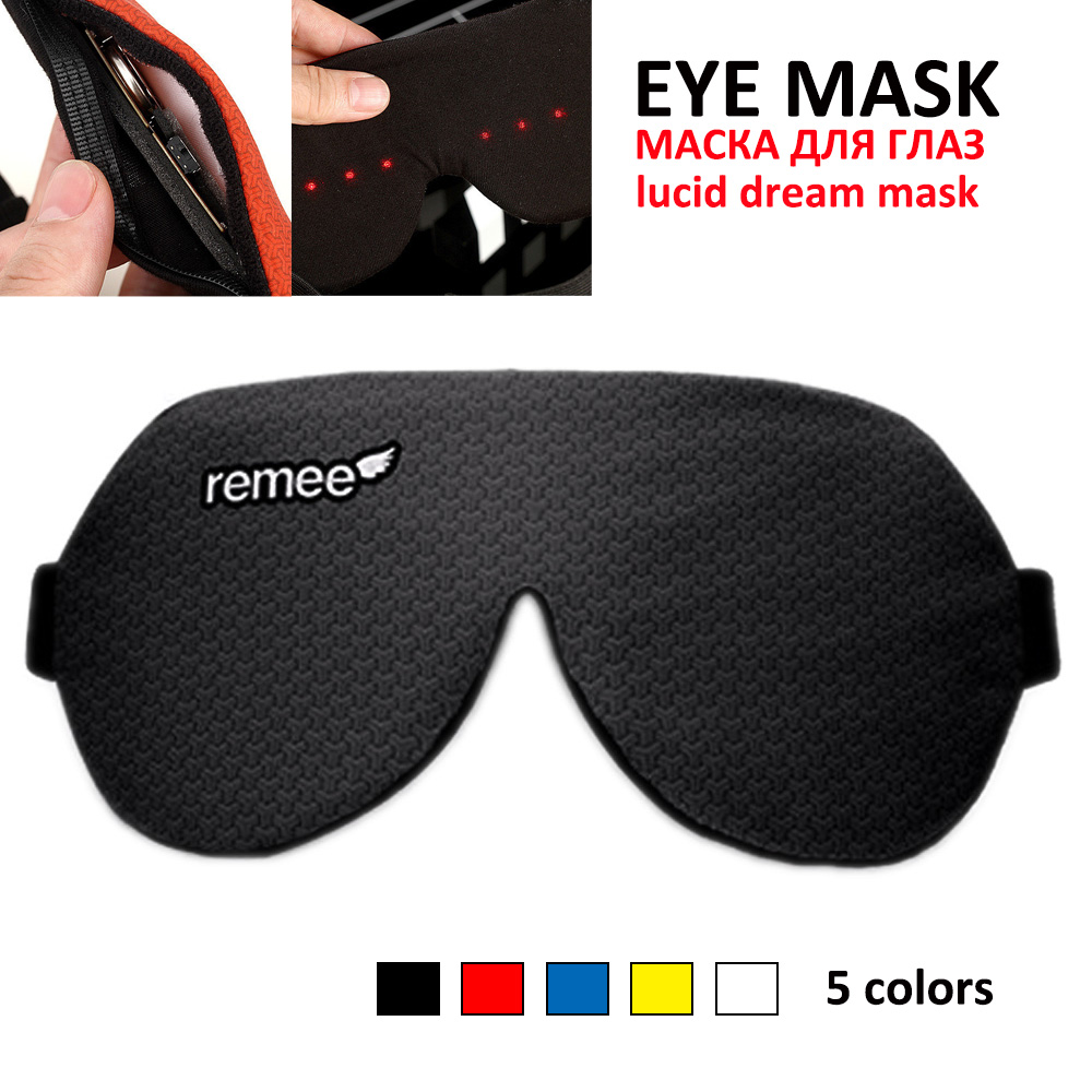 Lucid Dream Mask Dream Machine Maker Remee Remy Patch Dreams Sleep 3D VR Eye Masks Inception Lucid Dream Control