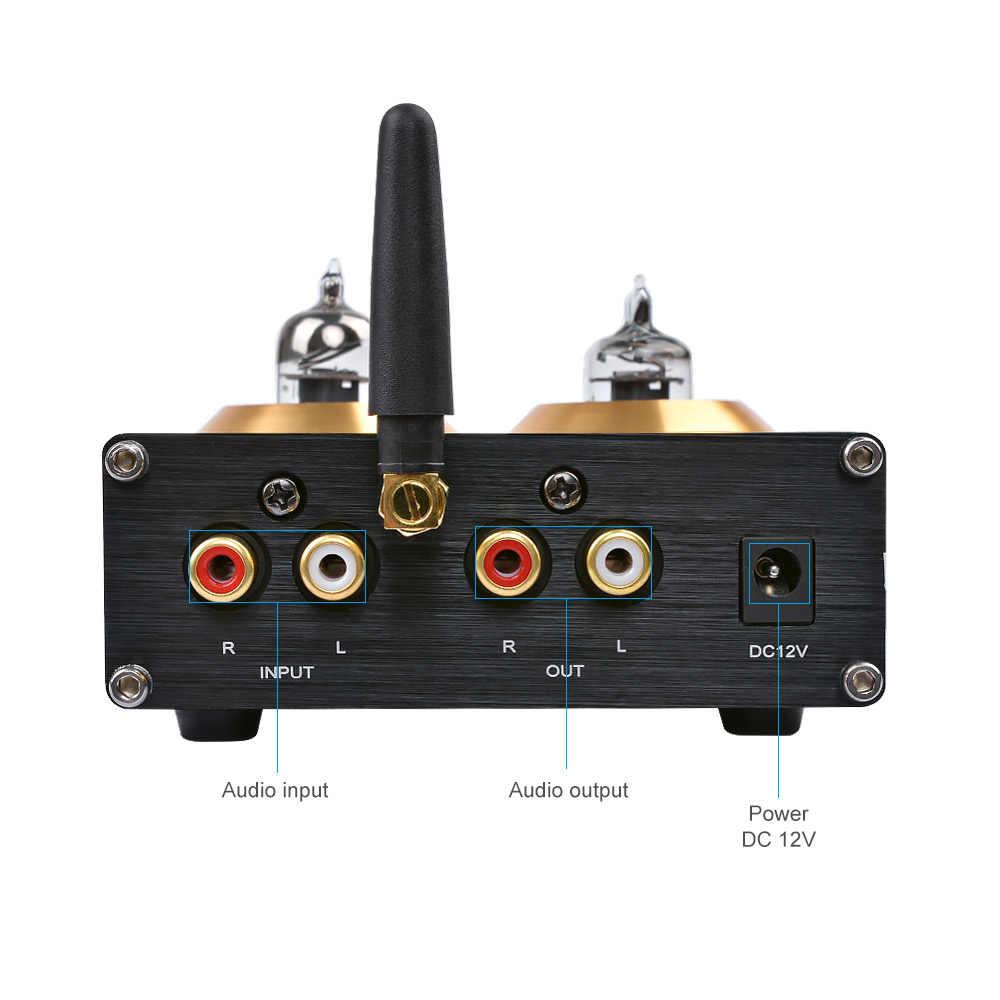 AIYIMA Bluetooth 4,2 буферный Hi-Fi 6J1 ламповый предусилитель усилитель стерео-преусилитель с тройным басовым контролем тона для домашнего кинотеатра