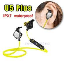 U5 PLUS Bluetooth Casque V4.1 De Natation Étanche IPX7 Écouteurs Sport Casque NFC pour iphone 7/Samsung huawei avec mic