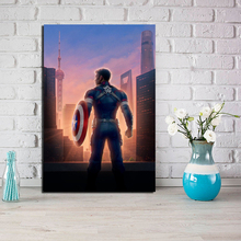 Captain America Avengers Endgame Canvas Posters Prints Wall Art Painting Decorative Picture Home Decoration Modern Pictures