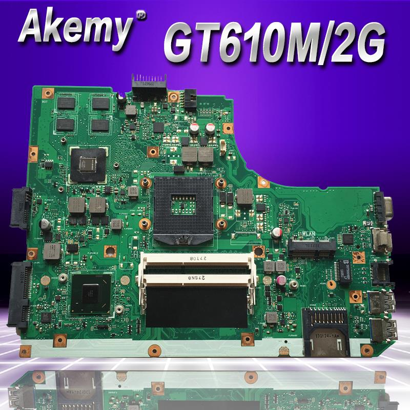 Akemy K55VD Laptop motherboard for ASUS K55VD K55A A55VD F55VD K55V K55 Test original mainboard Support