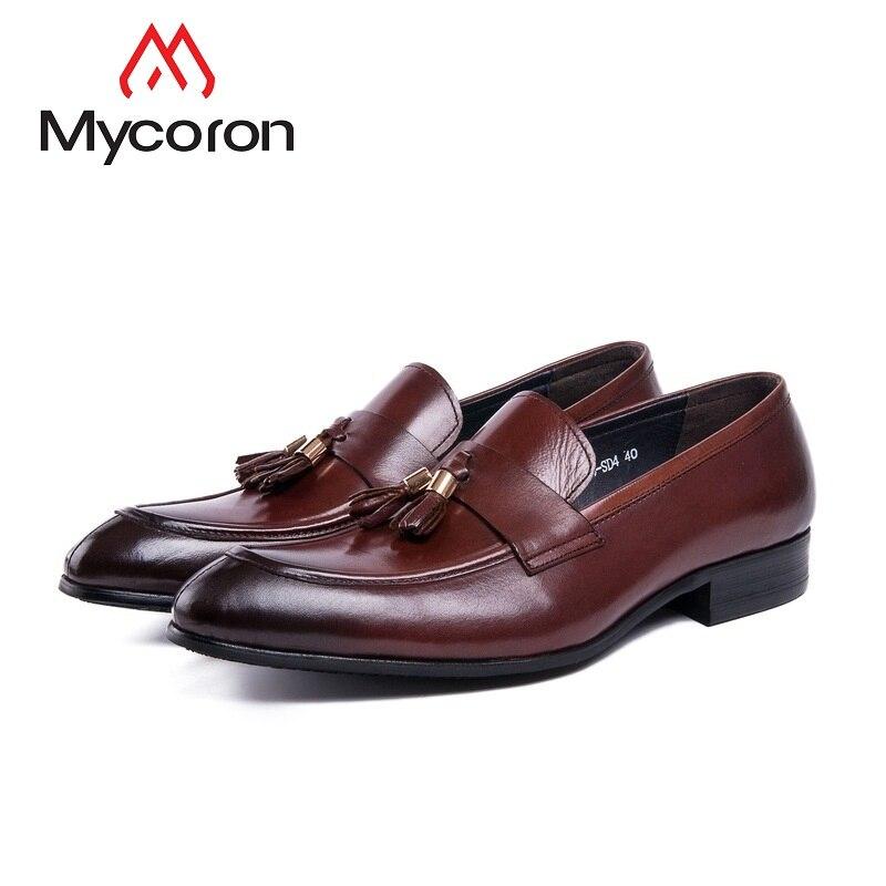 vin Rouge Partie Nouveau Robe Bottes Respirant Mycoron Hombre Pointu Formelles Véritable Cuir Zapato Noir Chaussures Bout De Mariage Hommes T87wUPq8d