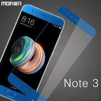 Voor Xiaomi mi opmerking 3 glas screen protector MOFi voor xiaomi note 3 gehard glas guard film veiligheid 9 H beschermende mi note3 glas