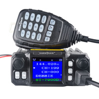 Mobile Ham Car Radio Amateur Radio Vehicle Transceiver Quad Standby Quad Band UHF VHF Radio 25W Walkie Talkie 10 KM Color Screen
