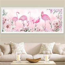 DiamondEmbroidery,China,landscape,scenery,Flamingo, 5D Full Diamond Painting,Cross Stitch, Flower Mosaic,Decoration