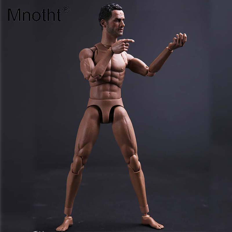 Mnotht TOYS 1/6 Man Action Figure Head Narrow Shoulder male Body MALE01 Toy For 12in Action Figure Male Body Model Collection 1 6th scale figure accessory iron man headsculpt tony stark head shape for 12 action figure doll not included body and clothes