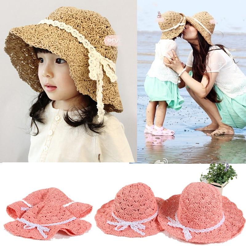 Versão coreana do chapéu novo chapéu de sol das crianças mão-made chapéu do verão
