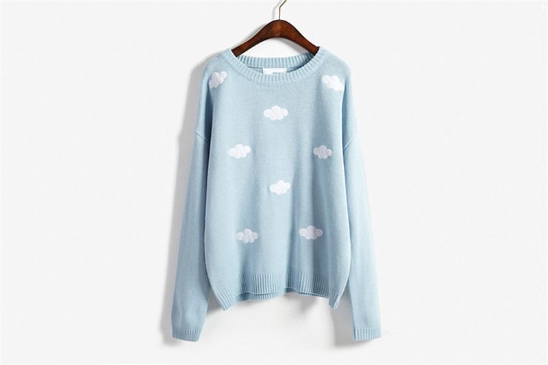 19 Women Sweaters And Pullovers Long sleeve Knitted Women's Sweater Female Winter V Neck Jumper Sueter Mujer Pull Femme 13