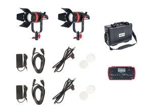 Image 5 - 2 個 CAME TV Q 55S boltzen 55 ワット高出力フレネル focusable の led 2 色キット led ビデオライト