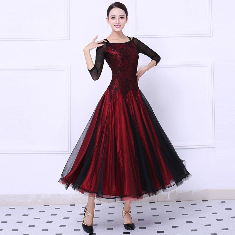 Ballroom Competition Dance Dress Women Tango Flamenco ...