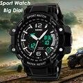 SKMEI Hot Brand Men Quartz Digital Watch Men Sports Watches Relogio Masculino LED Military Waterproof Wristwatches Reloj Clock