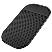 Car Anti-Slip Mat Dashboard Sticky Pad Car Interior Non-slip Holder For GPS Cell Phone Car Interior Accessories Non-slip Mat cheap Silica Gel PU Silica Gel 18CM X 12CM 13CM X 7CM Strong and Stable Black Provides super strong stickiness Free Easy and Convenient to us