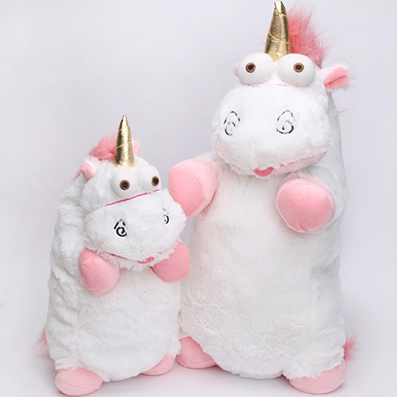 15-56cm Cute Unicorn Licorne unicornio Plush Toy Soft Stuffed Animal PlushToys Dolls Large Size Kids Baby Toys Birthday Gift ZJD 1pc 16cm mini kawaii animal plush toy cute rabbit owl raccoon panda chicken dolls with foam partical kids gift wedding dolls