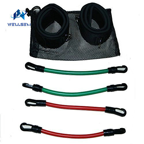 Kinetic Speed Agility Training Leg Running Resistance Bands tubes Exercise  Football basketball players exercise stretch bands