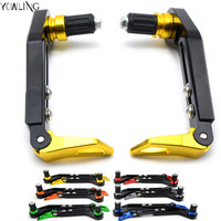 Newest 22mm 7 8 Adjustable Brake Clutch Levers Protector Brush Motorcycle Proguard System Guard CNC Protect