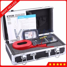 Buy online Explosion proof digital earth resistance measurement with 0.01-1200ohm ETCR2000B+ Clamp-on Ground Resistance Tester