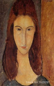 Jeanne Hebuterne II Amedeo Modigliani painting for sale Hand painted High quality image