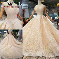 QUEEN BRIDAL Robe De Soiree 2019 A line Cap Sleeves Banquet Illusion Evening Dress Custom Made Long Party Gowns EV188