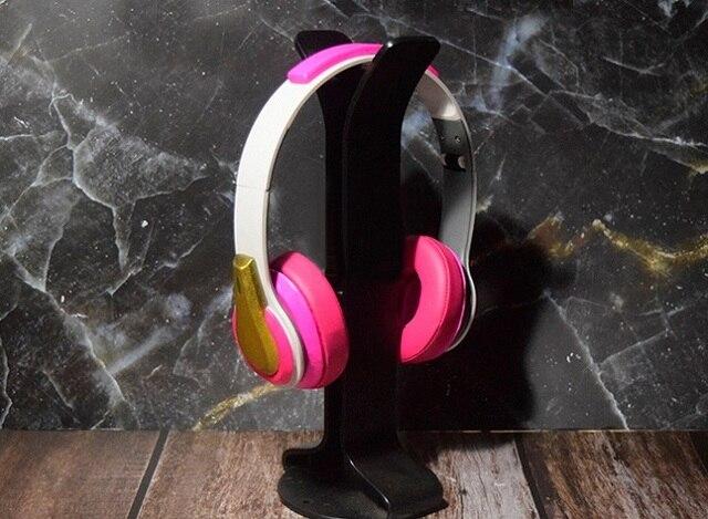 Overwatch Academy D.Va Cosplay Headphones