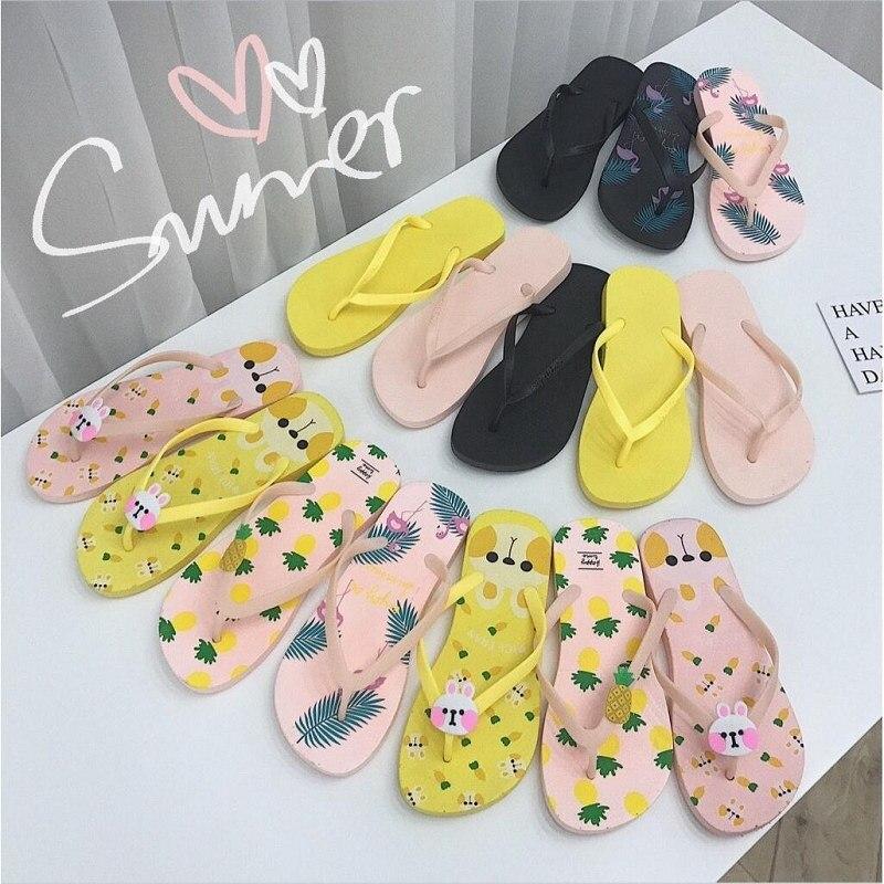 5349ae926f1 Women Shoes Slippers Beach Flip Flops Fashion Designer Ladies Summer Flat  Sandals Women Slippers Summer Flip
