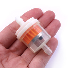 1 4 6 7mm Motorcycle Petrol Gas Fuel Gasoline Oil Filter for Scooter Motorcycle Moped Scooter