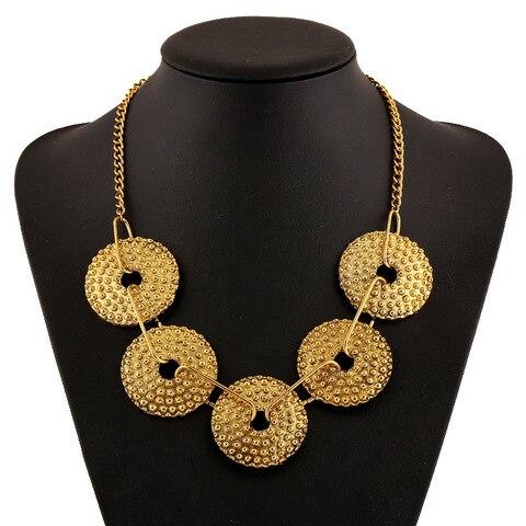 Купить женское ожерелье в ретро стиле этническое ожерелье с геометрическим