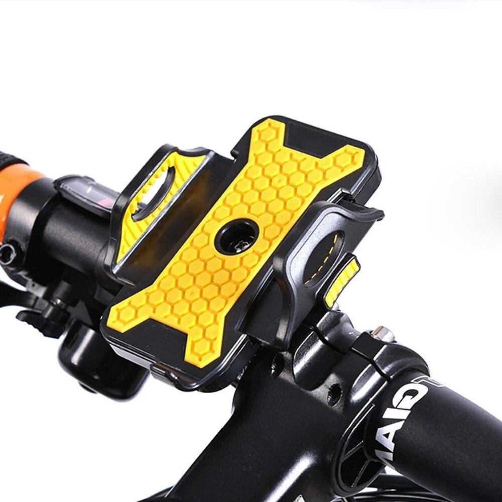 Универсальный велосипед Велосипедный Спорт мобильного телефона Руль управления для мотоциклов держатель 53 мм-83 мм регулируемый Ширина с П…