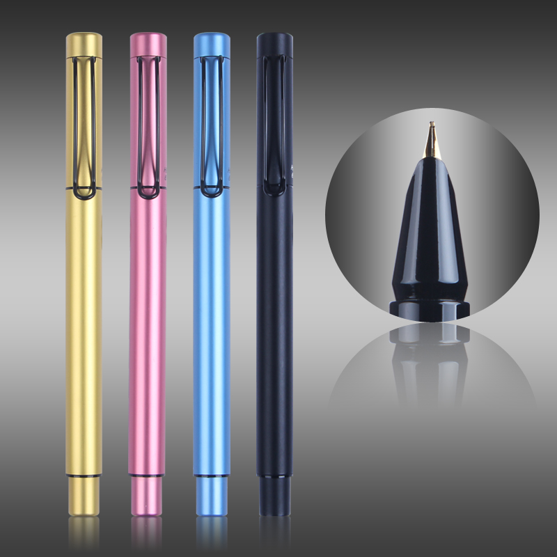Dazzle Color Iridium Fountain Pen Hero 6160 Nib 0.5mm Metal Writing Pens for Student Free Shipping цена