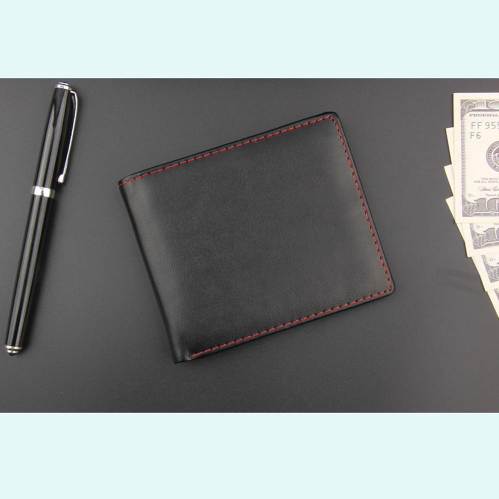 Naivety הגברים Bifold ארנק עור PU עסקים קצר רב תפקודי 23Jul כיסים ארנקים זהות מחזיק כרטיס אשראי מזומנים 2
