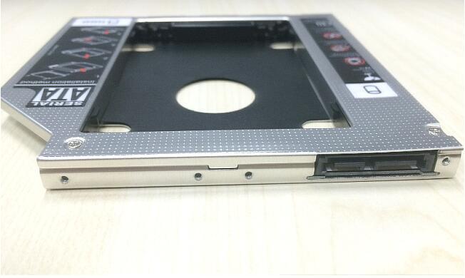2nd HD HDD SSD Hard Drive Caddy for Asus K56CM K56CB K56CA UL50A UJ8C2