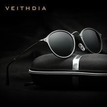 Men's Sunglasses Glasses Polarized Driving Glasses Aluminum Magnesium Male Round Retro Mens Sun Glasses Vintage Eyewear Glass