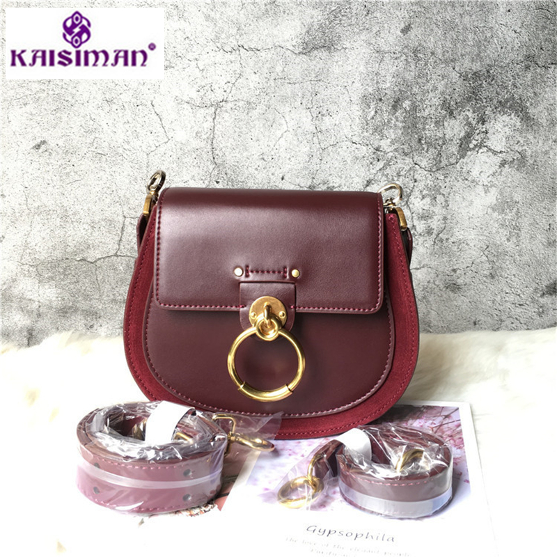 2018 Famous Luxury Original Brand Designer Women Round Handbag High Quality Cowhide Bag Gold Ring Trendy Shoulder Bag Sac A Main2018 Famous Luxury Original Brand Designer Women Round Handbag High Quality Cowhide Bag Gold Ring Trendy Shoulder Bag Sac A Main