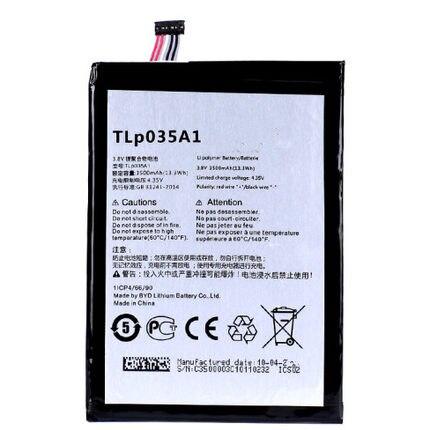 Аккумулятор 3,8 в 3500 мАч TLp035A1 для CMCC N823 N1 Max