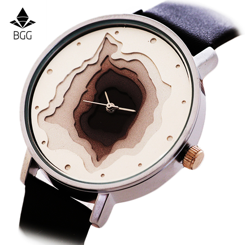 BGG New Creative Design Watch Mineral Stylish Quartz Women Watch Casual Fashion Ladies Gift Wrist Watch Vintage Timepieces clock купить в Москве 2019
