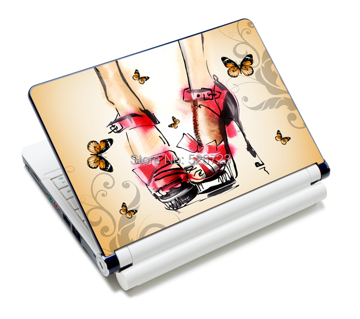 """fast shipping new computer accessories women laptop sticker notbook skin case10""""12""""13""""14""""15"""" for macbook air/acer/lenovo etc."""