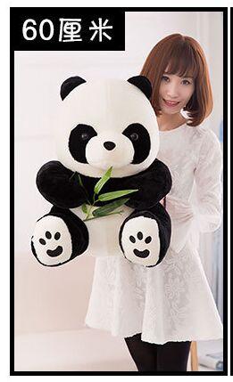 new lovely plush panda toy stuffed sitting panda doll gift about 60cm big lovely stuffed panda toy plush sitting panda doll birthday gift about 70cm