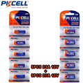((23A/27A) 12 V) 1 paquete/5 unids 23A y 1 paquete/5 unids batería alcalina 27A 12 V de un solo uso
