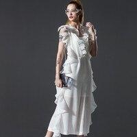 [EWQ] заказ новый мода длинные тонкие Для женщин 2018 Шумер рябить комбинезон комбинезоны Soild открытой спиной AZU12300S