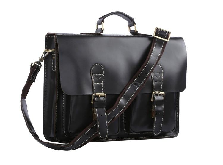 JMD High Quality Genuine Cow Leather Briefcase Handbag Portfolio Laptop Bag For Men Bags Expanding File Bag 5Pcs/Lot  #7105a italian calkfskin handbag china supplier oem custom top quality briefcase bags for men leather laptop case portfolios discount