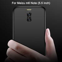 Meizu m6 Note Case Luxury Matte Silicone Soft Cover For Meizu m6 Note Protection Phone Case Meizu m 6 Note Back Cover Cases