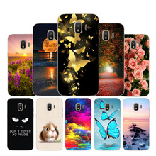 Case For Samsung Galaxy J2 2018 J2 pro 2018 J250F Case Silicone Painted Cover For Samsung Galaxy J2 pro 2018 J250F Soft Silicone чехол для samsung galaxy j2 2018 sm j250f jelly cover розовый