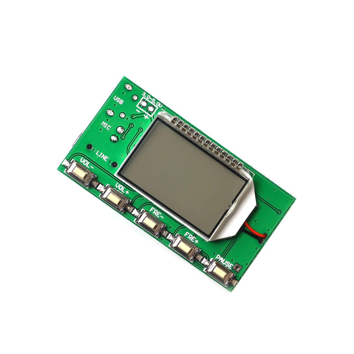 DSP PLL 87-108MHz Stereo FM Transmitter Module Digital Digital Wireless Microphone Board Multi-function Frequency ModulationDSP PLL 87-108MHz Stereo FM Transmitter Module Digital Digital Wireless Microphone Board Multi-function Frequency Modulation