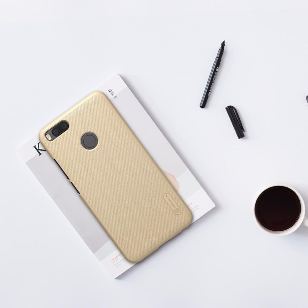 xiaomi mia1 Case բնօրինակը NILLKIN Super Frosted Shield Back - Բջջային հեռախոսի պարագաներ և պահեստամասեր - Լուսանկար 5
