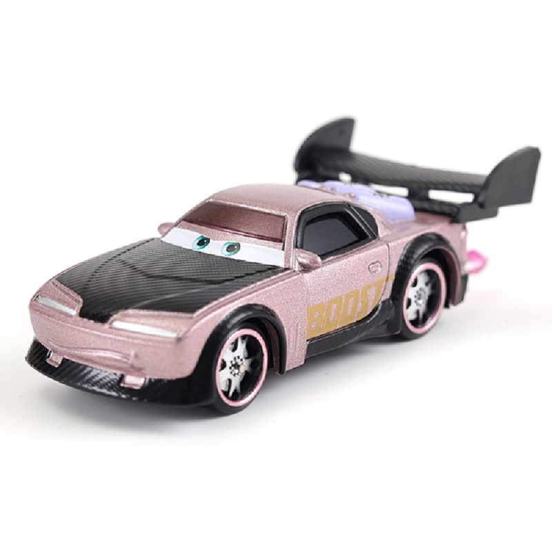 US $1 29 19% OFF|Cars Disney Pixar Cars Boost With Flames Metal Diecast Toy  Car Loose Brand Lightning McQueen Mater Jackson Storm Ramirez Cars 3-in