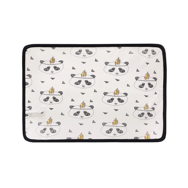 Waterproof Changing Mats for Infants with Colorful Designs