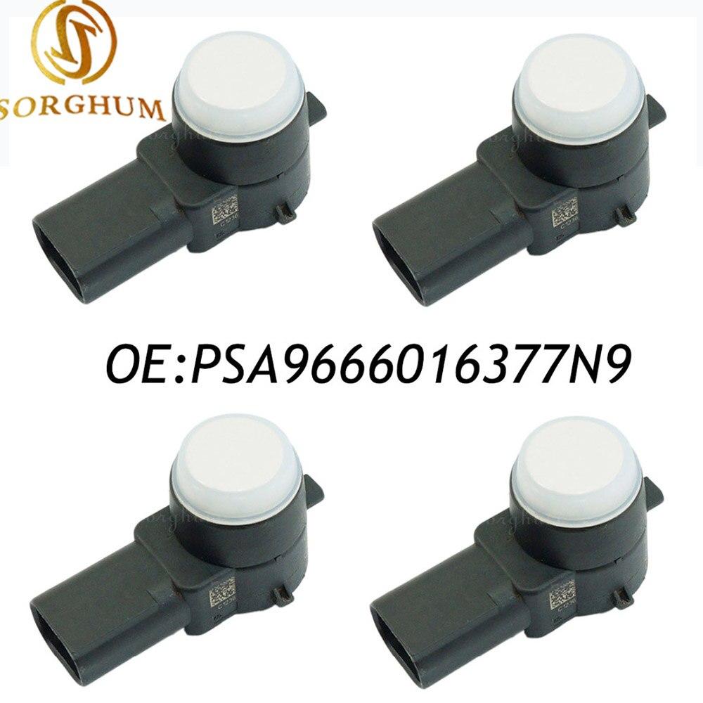 4PCS PSA9666016377N9,0263013148 For Peugeot Citroen PSA 9666016377N9 PDC Parking Sensor Bumper Backup4PCS PSA9666016377N9,0263013148 For Peugeot Citroen PSA 9666016377N9 PDC Parking Sensor Bumper Backup