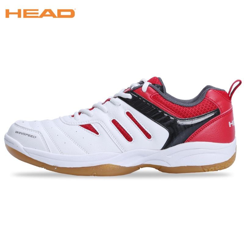 HEAD Badminton Shoes For Men Professional Sneakers Breathable Sport Shoes Unisex Brand Table Tennis Badminton Shoes EUR Size 44 2018 new balance nb574 574 ms574 men s shoes women breathable sneakers badminton shoes size 36 40 women12