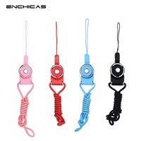 ENCHICAS Wholesale 100 PCS Lot Universal Detachable Long Lanyard Neck Strap For Electronics Accessories CAMERA Cell