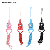 ENCHICAS Wholesale 100 PCS Lot Universal Detachable Long Lanyard Neck Strap For Electronics Accessories CAMERA Cell