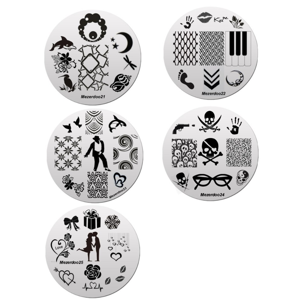 1 дана 240Slots Nail Stamping Plate Holder Case + 10 дана - Маникюр - фото 2